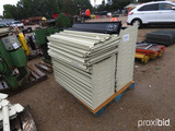 Pallet of Shelving w/ Wall Mounting Hardware: Heavy-duty