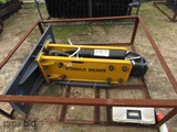 New Wolverine ZW-750 Hydraulic Concrete Breaker Attachment for Skid Steer