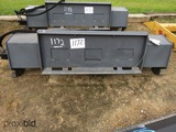 New Wolverine Hydraulic Rotary Tiller Attachment for Skid Steer