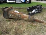2010 Bobcat HB980 Hydraulic Breaker, s/n A00Y02289