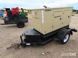 Generac Generator, s/n 2039615: Portable, Model 98A00117S, Towable, 14 KVA,