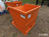 Unused 2021 Greatbear Self-dumping Hopper: 1 cu yd, Forklift Pockets