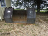 Pemberton QC Grapple Bucket for Rubber-tired Loader