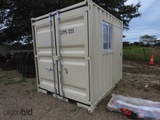 Unused 2021 9' Container: Outer Size - L2743mm x W2200mm x H2510mm