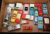 Box Of Miscellaneous Vintage Toy Cars: Dinky & Others, Approx 17