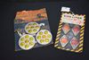2 - Automobile Safety Reflectors And Set Of Jeweled