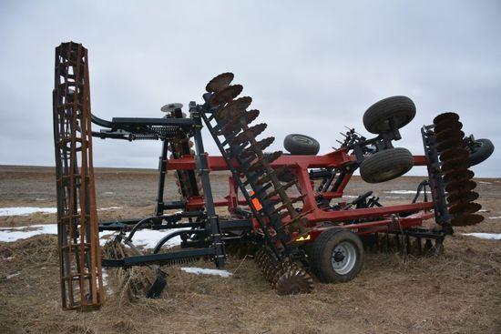 2012 Case IH 330 Turbo Till, 25', Good Blades, Rolling Basket, ONE OWNER