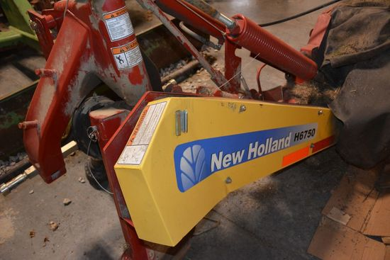 New Holland H6750 Disk Mower, 7 Modules, 9', 540PTO, ONE OWNER
