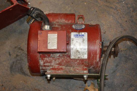 2HP Electric Motor, Belt Pulley