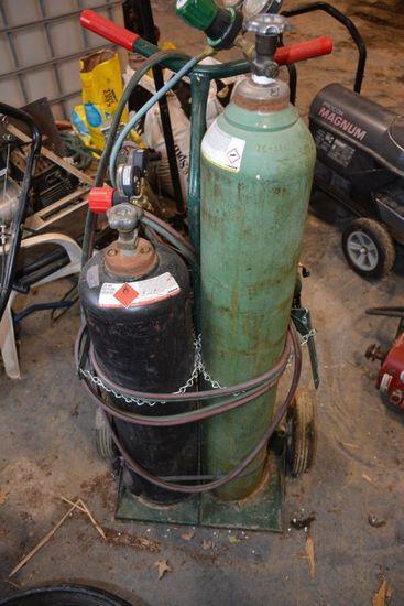 Torch Set On Cart