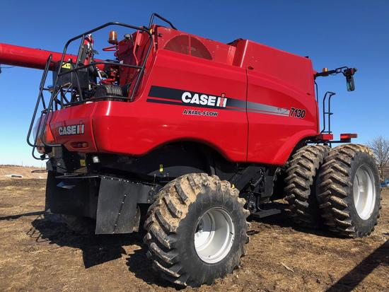 2013 Case IH 7130 Combine, APROX 2100 Separator Hours, AFS Pro 700 Monitor,