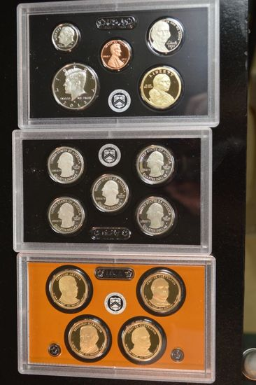 2012 U.S Mint 14 Coin Set - Silver PRF