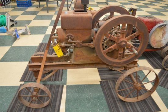 Economy Gas Engine 2 1/2 HP SN# 52750