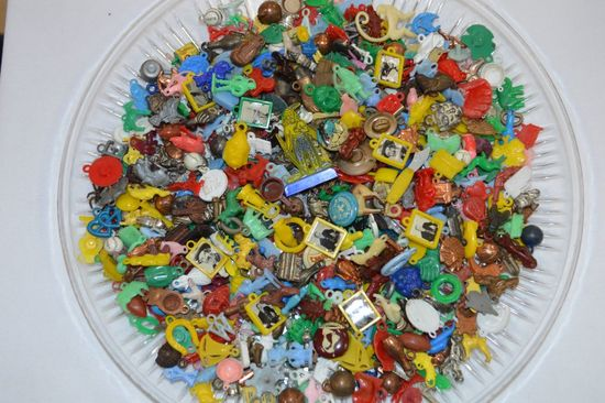 Group of Cracker Jack Toys