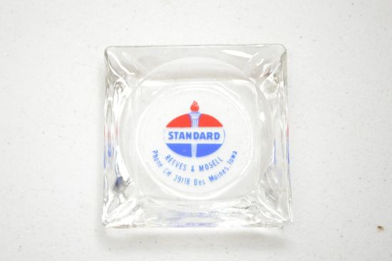 Standard Oil Ash Tray -  Reeve's and Mosell - Des Moines, IA