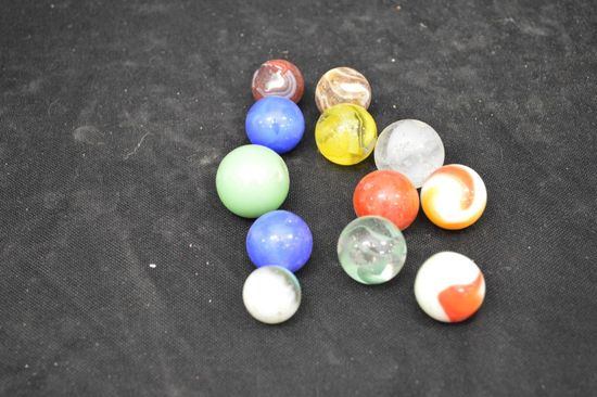 Group of Shooter Marbles