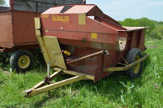 Schuler 125-BF Silage Wagon