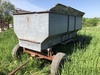 Metal Flare Wagon, new floor with plastic liner and hoist