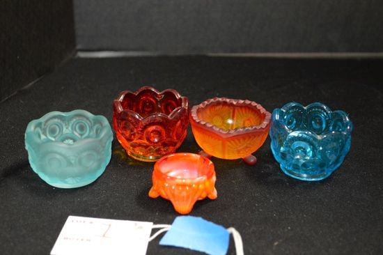 5 Assorted Patterns and Color Salts