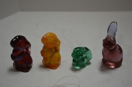 Assorted Small Bunny Figurines
