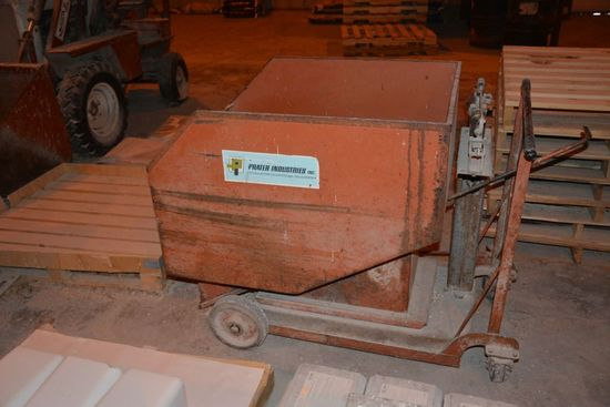 Prater Industries Feed Weigh Cart