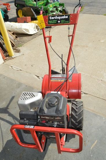 Rear Tinne Roto Garden Tiller by Earthquake, Used Very Little