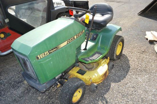 "John Deere 165 Hydrostat 48"" Cut Riding Mower"