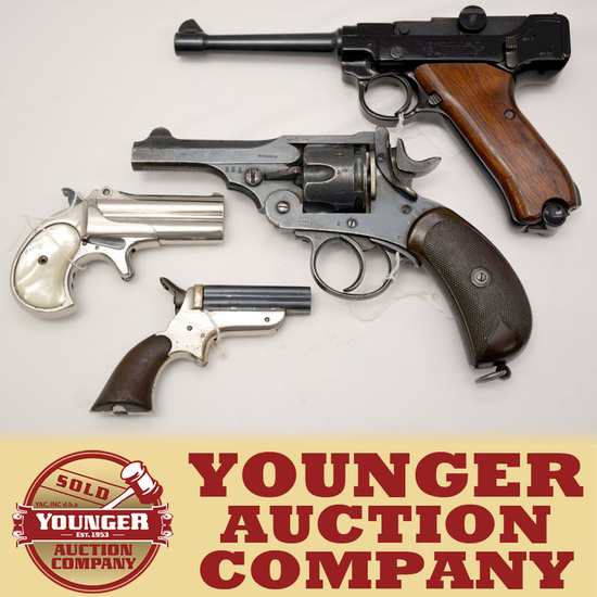 ANTIQUE & COLLECTIBLE GUNS AND POCKET KNIVES