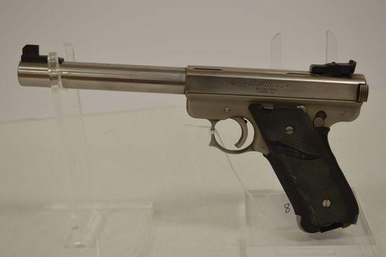 AmF 22 Long Rifle SA Stadium Steel 6 1/2 in. Bull Adj. Sights and Trigger,