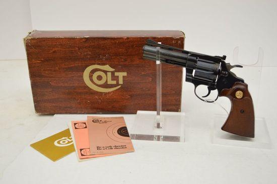 Colt Diamond Back .38 Special, 4 in. Barrel VR Barrel , Blue Adj. Rear Sigh