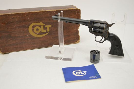 Colt Peacemaker 22LR Revolver Single Action w/ 22 Cal Mag Cyclinder 6 in. B
