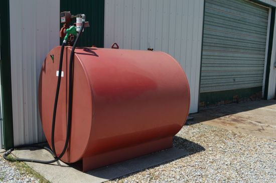 1000 Gallon Fuel Barrel, Fil-Rite Pump, Gallon Counter