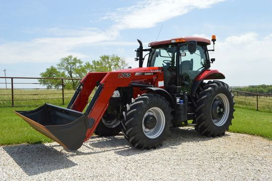 "2012 Case IH 160 Puma, MFWD, Short Wheel Base, 98"" Rear Axle, 1863 Hours, 1"