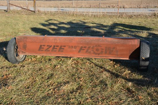 EZ Flow Spreader, Used For Grass Seed