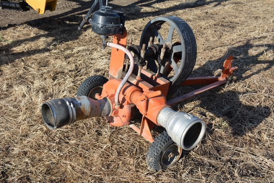 "**SELLING AFTER LOT 38**  Portable Water Pump System w/ 540 PTO,  4"" input,"