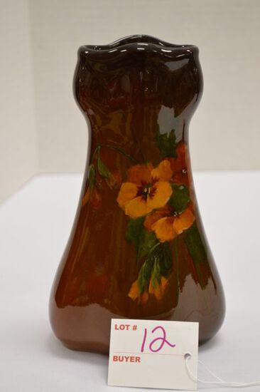 Rozane Ware Royal Flower Vase, 7 1/2 x 4 in.