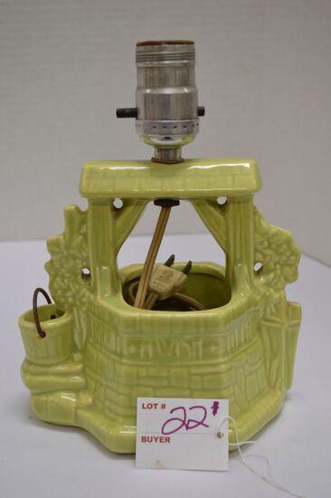 Buckingham Ceramics Wishing Well Light - Works
