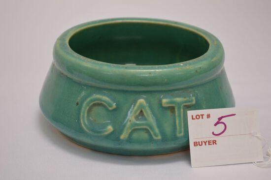 McCoy Cat Dish 5 1/2 x 2 1/2 in.