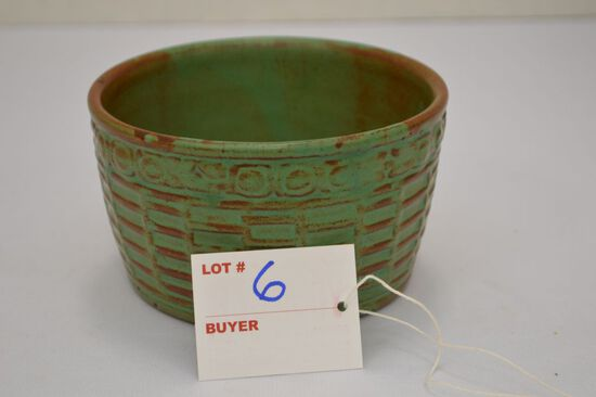 Unmarked Small Basket Pot 3""