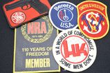 Lot of Name Brand Firearm Patches