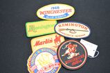 Lot of Advertising Patches: Winchester, Remington, Marlin, etc...