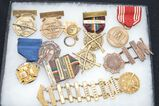 Lot of Vintage NRA Medals & 1 - 1927 NY National Guardsman Medal in Display Box