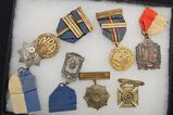 Lot of Vintage NRA Medals, Shooting Matches - Medals and Others - in Display Box