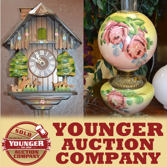 CUCKOO CLOCKS, ALADDIN LAMPS, PIPES & MORE