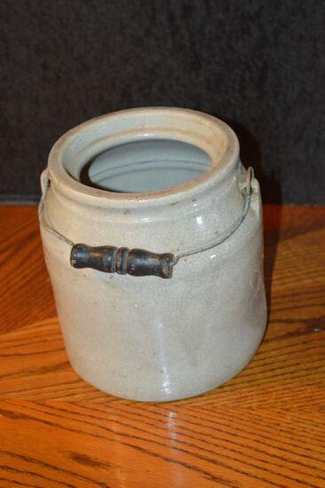 Bale Handle Preserve Crock, Missing Lid