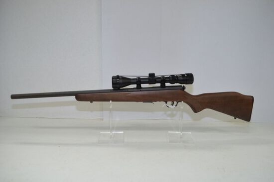 Savage Model 93R17 .17 HMR Cal., New in box with Bushnell scope 3-9x40, S/N