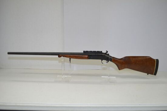 New England Single shot .280 Remington Cal., Used, stock has scratches, S/N