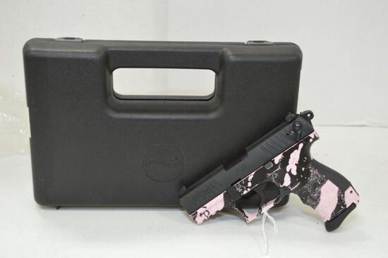 Walther P22 .22 LR Cal., Used, with case, S/N 2050471
