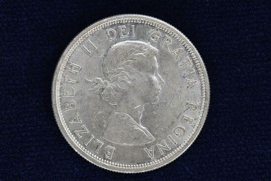 "1964 World Coin ""Elizabeth II Del Gratia Ragina"" Dollar"