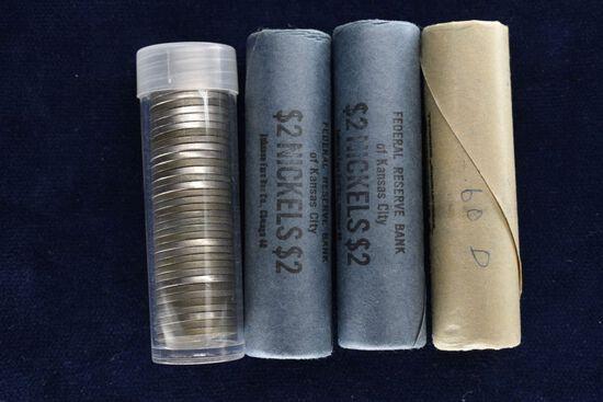 Approximately 159, 1945 - 1963 Jefferson Nickels